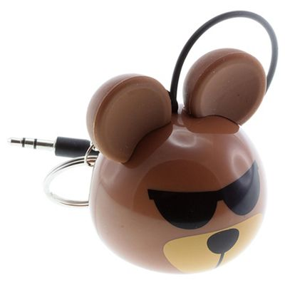 KitSound Mini Buddy Bear Speaker for iPod/iPad/iPhone & Android Devices