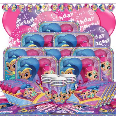 Shimmer & Shine Party Pack - Deluxe Pack for 16