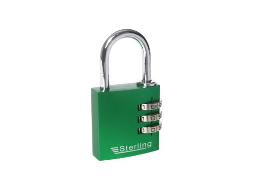 Sterling Cpl131 Alu.Combination Padlock 30Mm