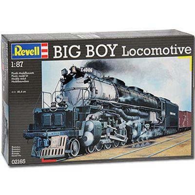 Revell Big Boy Locomotive 1:87 Model Train Kit - 02165