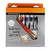 Daler Rowney Acrylic Mini Art Set - Art Store
