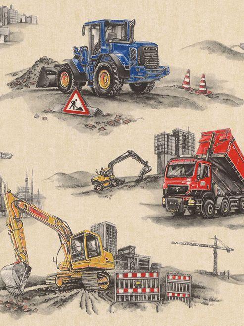 Rasch Construction Wallpaper 293500