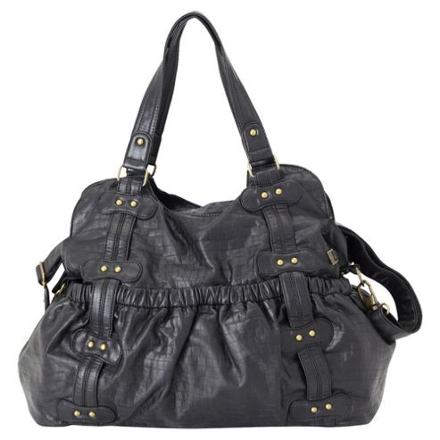 OiOi Changing Bag Black Stud Tote