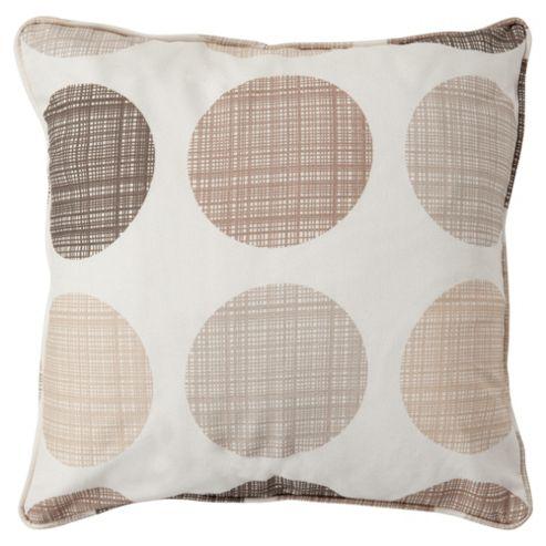 Tesco Saturn Cushion  Natural