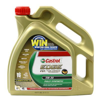Edge Fully Synthetic 5W30 Engine Oil (4 Litre)