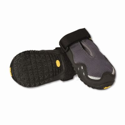 Ruff Wear Bark'n Boots? Grip Trex? Dog Boot in Granite Grey - Small (6.4cm W)