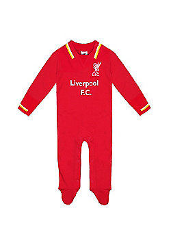 Liverpool FC Baby Sleepsuit 0-3 Months - Red