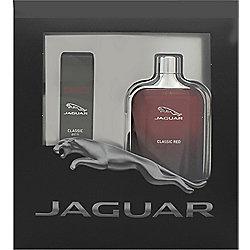 Jaguar Classic Red Gift Set 100ml EDT + 15ml EDT Travel Spray For Men