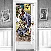 Zombie Bathroom Door Decoration - 76cm Halloween Decoration