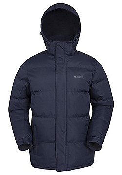 Mountain Warehouse Snow Mens Padded Jacket - Blue