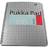 Pukka Pad Notebook Wirebound Editor 80gsm 100 Pages A4 Ref EM003 - Pack of 3