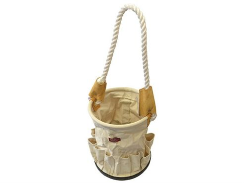 Faithfull Canvas Tool Bucket with Rope Handle