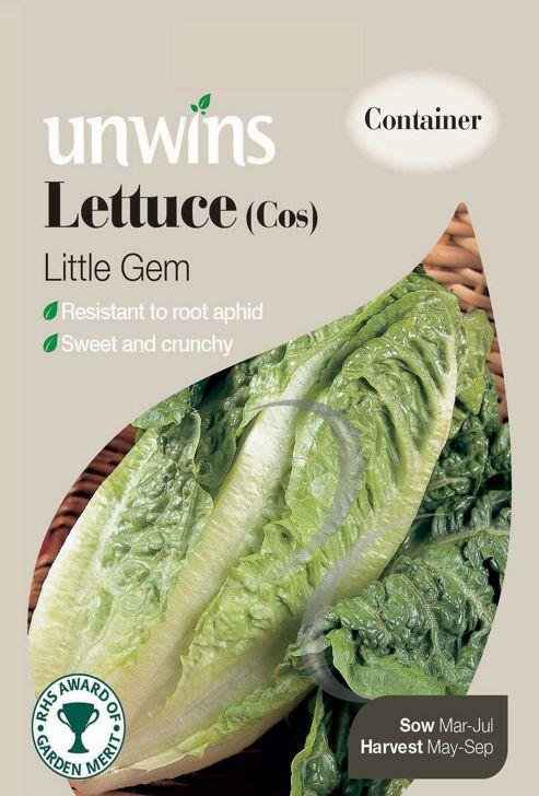 Lettuce Cos Little Gem