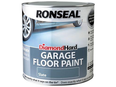 Ronseal Diamond Hard Garage Floor Paint Steel Blue 2.5 Litre