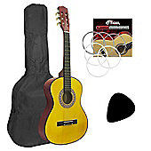 Mad About Left Handed 3/4 Size Children's Classical Guitar - Kids Pack