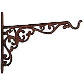 Cast Iron Decorative Hanging Basket Bracket (20cm)