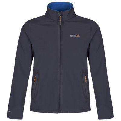 Cera lll Jacket Mens Iron/OxfBlue M