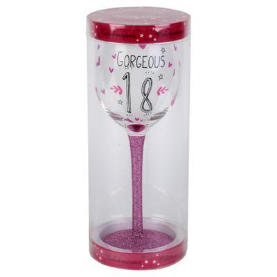 Age 18 Wine Glass