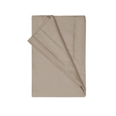 Belledorm 450 Thread Count Pima Cotton Flat Sheet Walnut - Single
