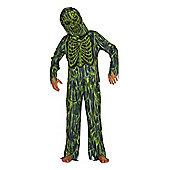 F&F Slime Swamp Zombie Halloween Costume - Green