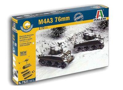 M4A3 76mm - 1:72 Scale - 7521 - Italeri