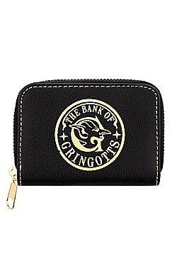 Harry Potter Gringotts Bank Black Coin Purse