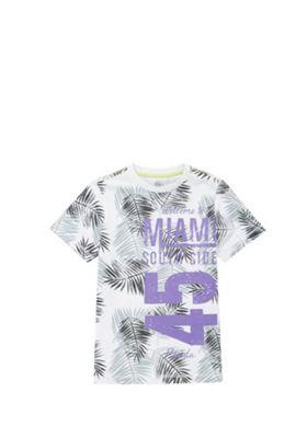 F&F Miami Slogan T-Shirt White 11-12 years