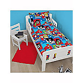 DC Superfriends Buddies Junior Rotary Duvet Cover Set