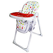 Bebe Style HiLo Burst Multi Function Recline Highchair - Cubed