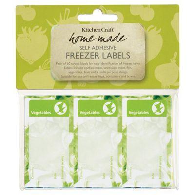 Kitchen Craft Freezer Labels
