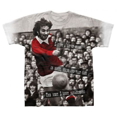 George Best Mens T-Shirt Small