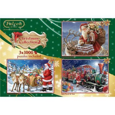 No 2 Christmas Box - 3 in 1 Puzzle