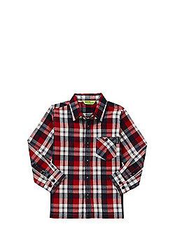 Regatta Checked Shirt - Red & Navy