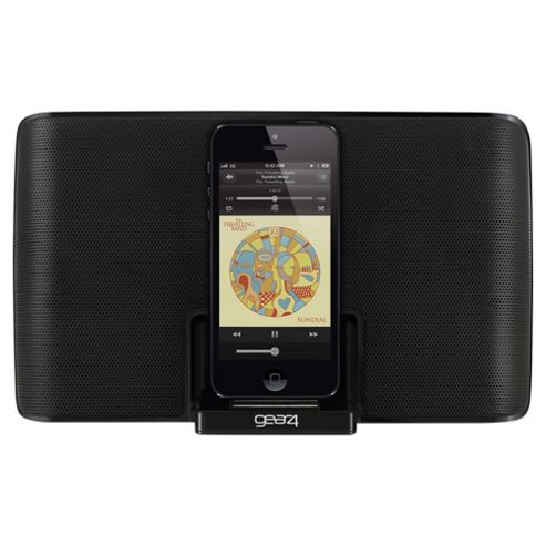Gear4 PG836EUK StreetParty 5 Speakerdock, iPhone 5/5s 3.6W total output