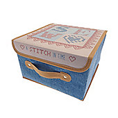 Country Club Sewing & Craft Box, Patchwork Stitch