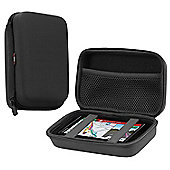 Navitech Charcoal Grey Heavy Duty Rugged Slim case for the TomTom GO 6200