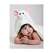 Zoocchini Baby Hooded Towels - Lola the Lamb