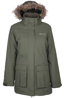 Canyon Womens Waterproof Long Warm Jacket Coat with Detatchable Fur Tim Hood