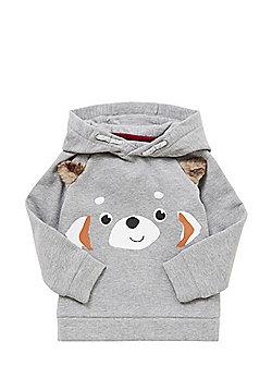 F&F Panda Face Hoodie - Grey