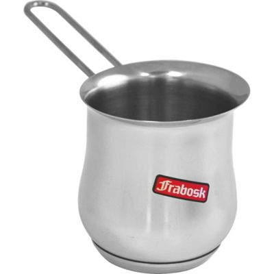Frabosk Stainless Steel Turkish Coffee Pot Milk 600ml
