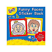 James Galt Funny Faces Sticker Book