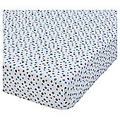 Penguin Printed 2 Pack Fitted Cot Bed Sheets