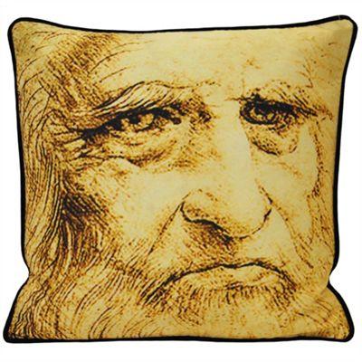 Riva Home Leonardo Self Portrait Cushion Cover - 45x45cm