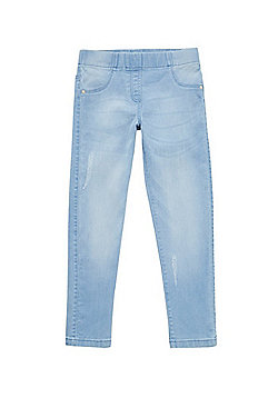 F&F Distressed Jeggings - Light Wash