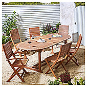 Kingsbury 7 Piece Extendable Table Dining Set