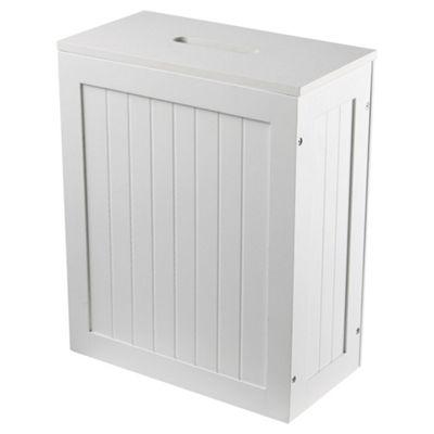 Lloyd Pascal Chalgrove Shaker Storage Box, White