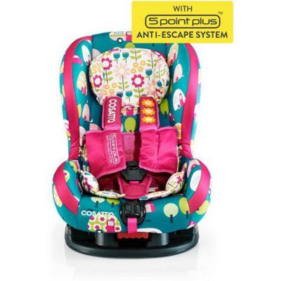 Cosatto Moova 2 Group 1 Anti-Escape Car Seat (Happy Campers)