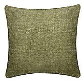 Chenille Cushion - Green