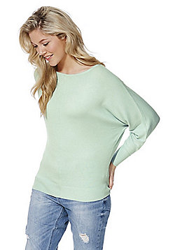 F&F Batwing Sleeve Jumper with As New Technology - Mint green