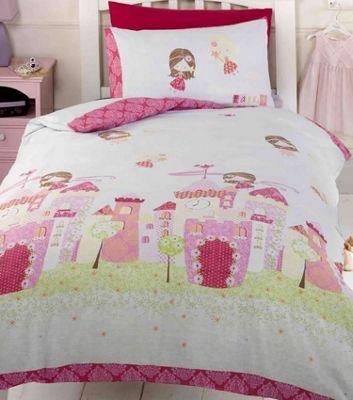 Fairy Castle Single Bedding